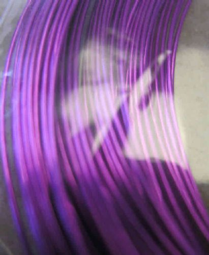 JW11584 0.5mm x 15m coloured copper wire - supa violet